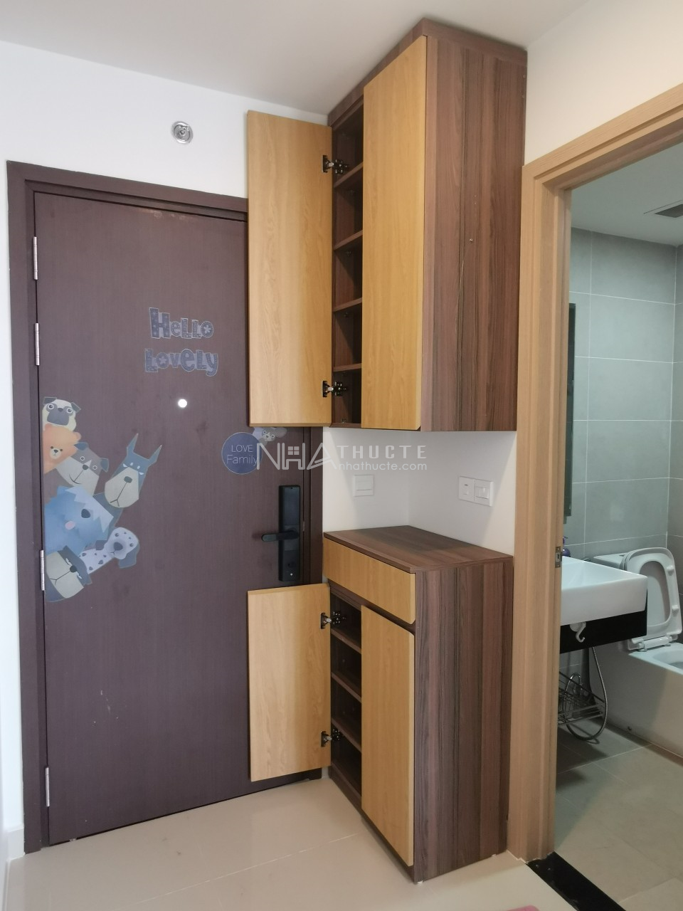 Sunrise City View - tầng 17 - Officetel - 1 wc