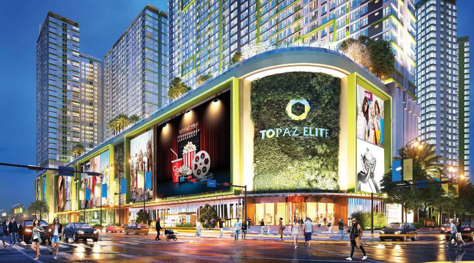 Cho thuê căn hộ Topaz Elite tổng quan