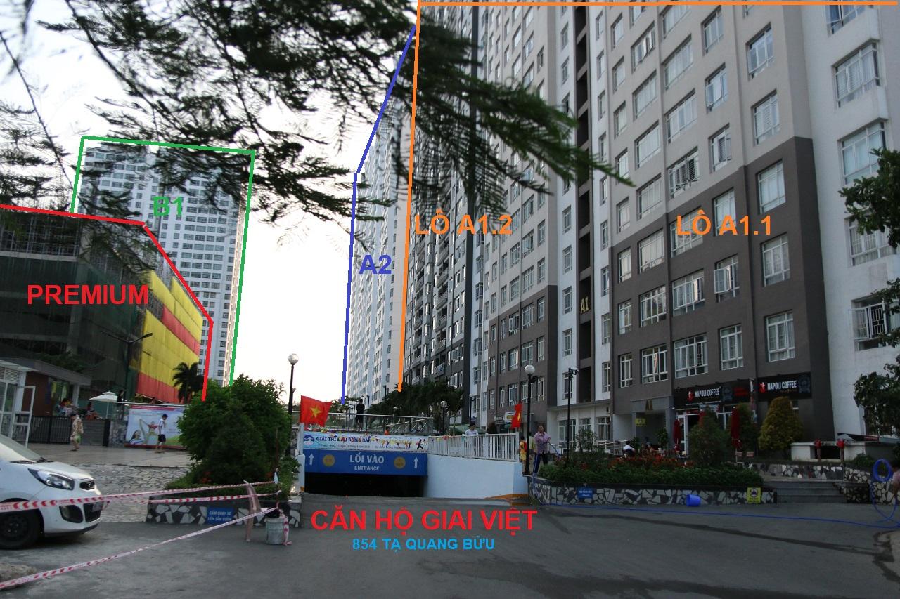 Nhu cầu thuê Giai Việt Quận 8